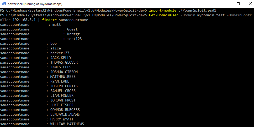 Low Privilege Active Directory Enumeration from a non-Domain