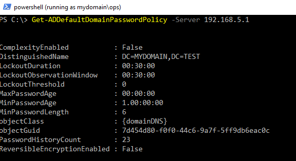 Low Privilege Active Directory Enumeration from a non-Domain Joined